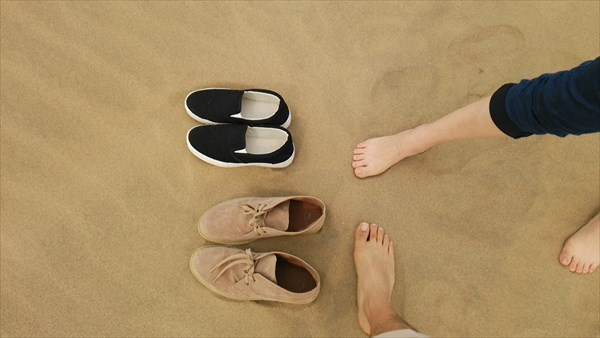 【鳥取旅行記1】鳥取砂丘で裸足ではしゃぎ回ってきた