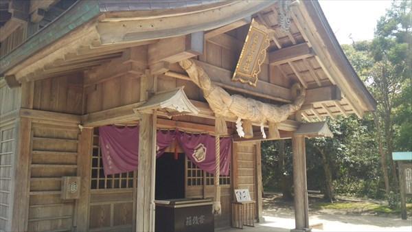 白兎神社 本殿2