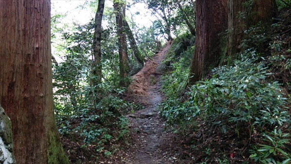 投入堂 登山2