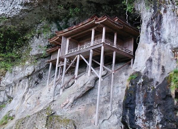 【鳥取旅行記4】日本一危険な国宝「投入堂」は本当に危険だった