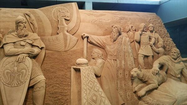 砂の美術館 砂像 作品1