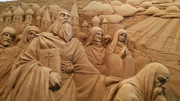 砂の美術館 砂像