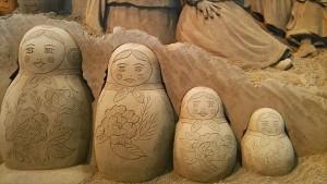 砂の美術館 マトリョーシカ