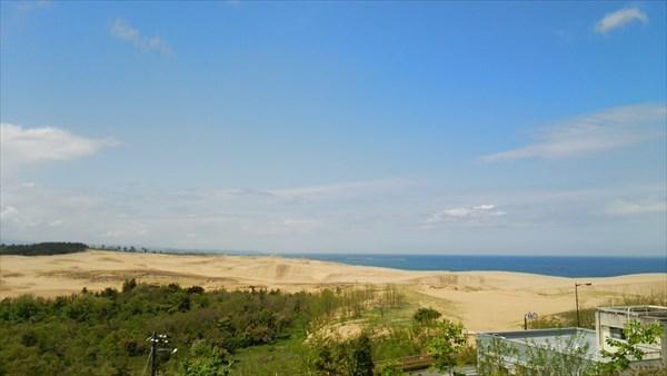 砂の美術館 展望台からの眺め2
