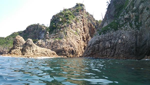 浦富海岸 カヤック体験