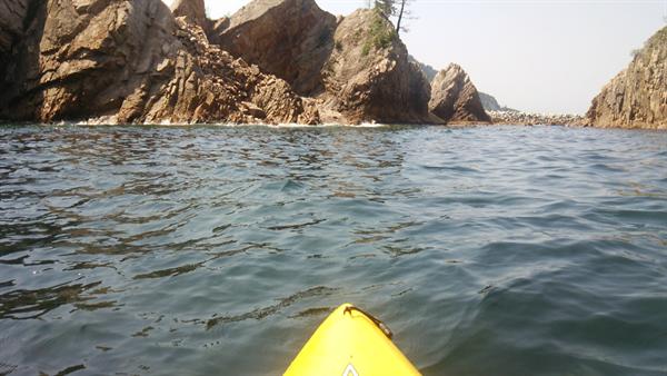 【鳥取旅行記6】 鳥取の浦富海岸でカヤック体験をしてきた!【自然体験塾】