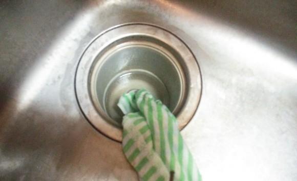 排水 タオル