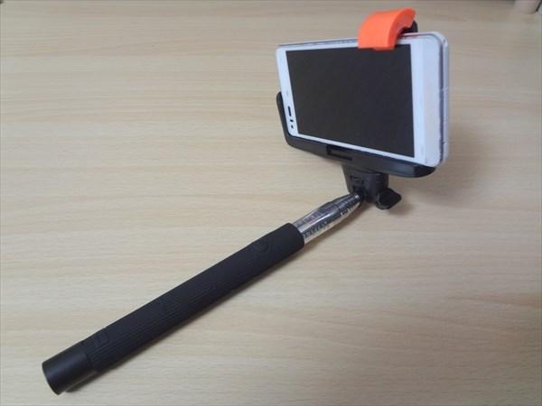 自撮りスティック!Kjstar MONOPOD Z07-5を買ってみた!使ってみた感想と設定方法もろもろ。