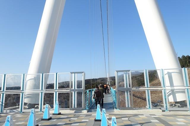 三島スカイウォーク 吊橋の入り口