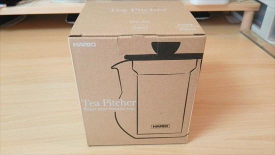 ハリオ ティーピッチャー tpc-70hsv 外箱