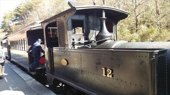 明治村 蒸気機関車