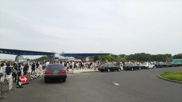 国営ひたち海浜公園 チケット行列