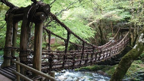 徳島にある最高の吊り橋スポット「奥祖谷の二重かずら橋」に行ってきた!祖谷のかずら橋とどっちがおすすめ?