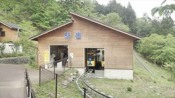 奥祖谷観光周遊モノレール 駅舎
