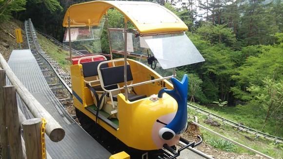 奥祖谷観光周遊モノレール 私達が乗ったモノレール