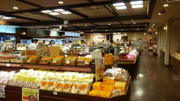 タオル美術館 四国の物産コーナー