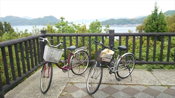 サンライズ糸山で借りた自転車