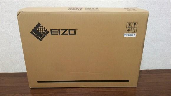 EIZO FlexScan ev2455-r 外箱