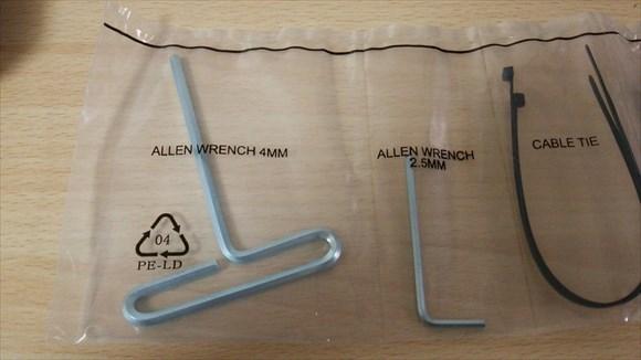 エルゴトロン LX desk mount 付属品2
