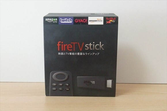 fire tv stick 外箱