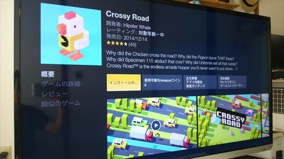crossy Road fire tvバージョン