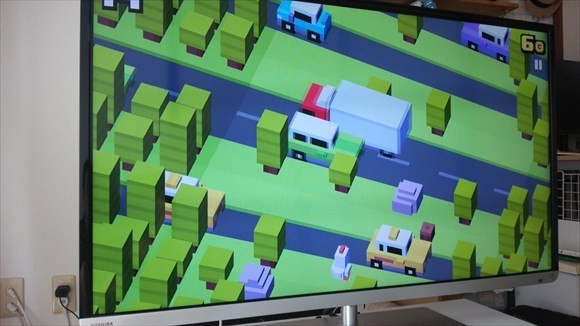 crossy road fire tv