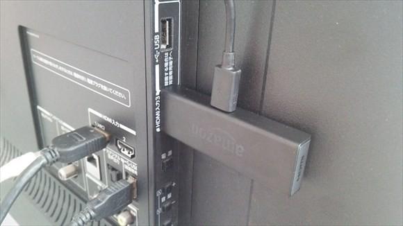 fire tv stick テレビに接続