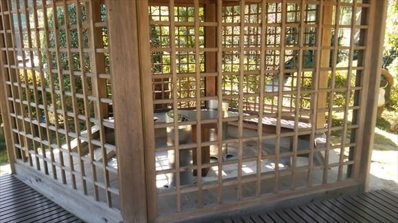 琴平神社 喫煙ルーム