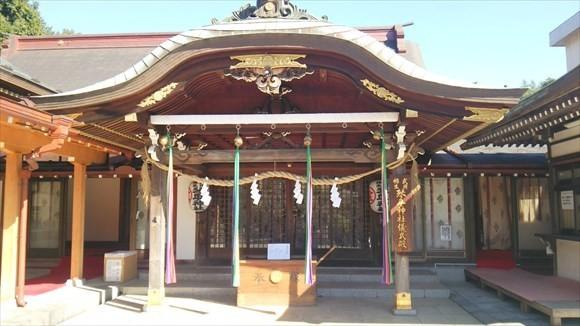 琴平神社 儀式殿 外観