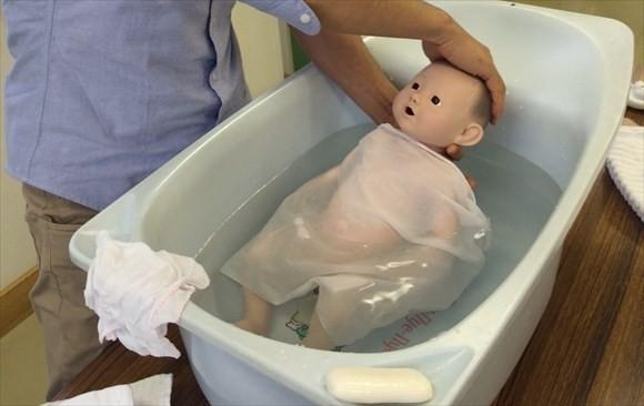 沐浴指導&沐浴体験