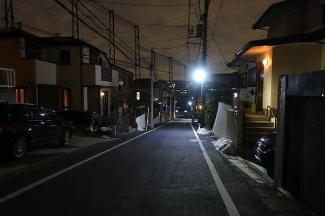 RX100M3で路地を撮影
