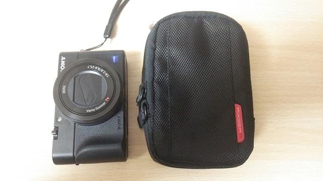 RX100M3 ハクバ カメラポーチ Sサイズ