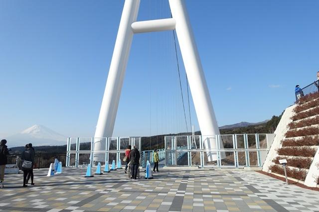 三島スカイウォーク つり橋
