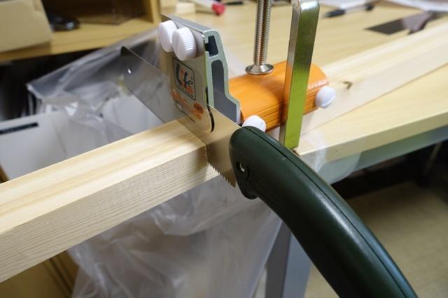 DIYの強い味方!ソーガイドミニを使えば誰でも簡単に木材をまっすぐカットできるぞ!使い方など。