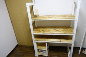 キッチン ラック DIY 完成品!