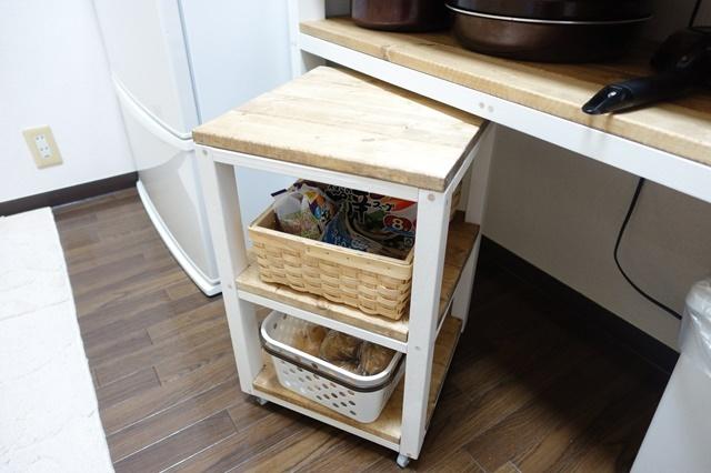 キッチンワゴン DIY