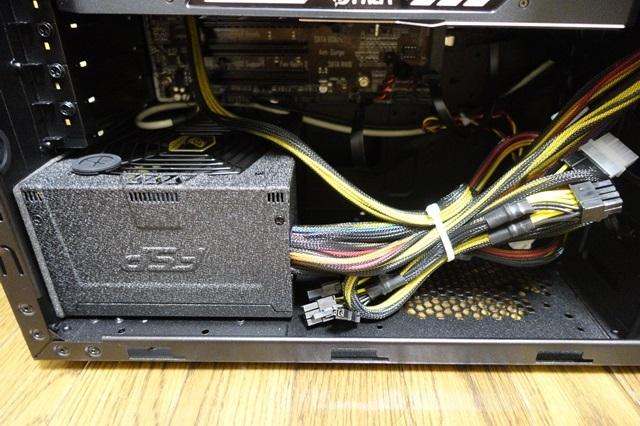 デスクトップパソコン 電源