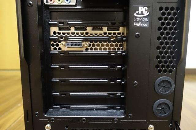 GeForce GTX1070 映像端子