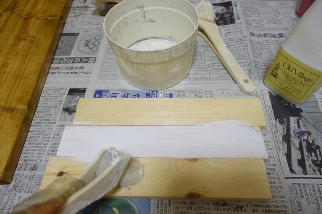 バターミルクペイント 着色 チャイルドロッカーホワイト