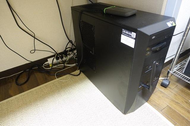 パソコンの机のデスクトップ