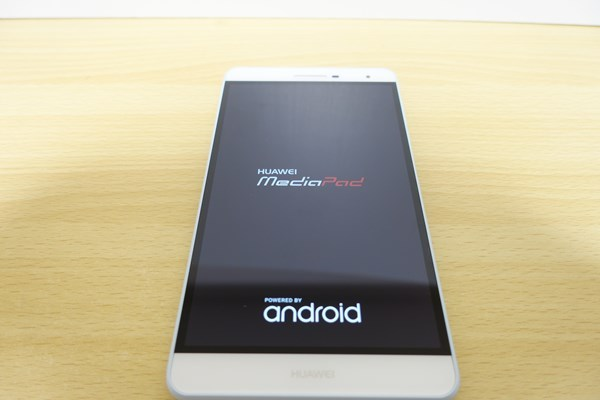 MediaPad T2 7.0 Pro 起動!