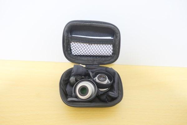 dodocool 3-イン-1 カメラレンズキット キャリーバッグ