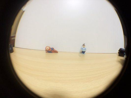 dodocool 3-イン-1 カメラレンズキット 魚眼レンズで撮ってみた