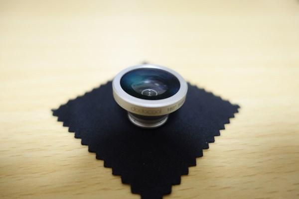 dodocool 3-イン-1 カメラレンズキット 魚眼レンズで撮ってみる