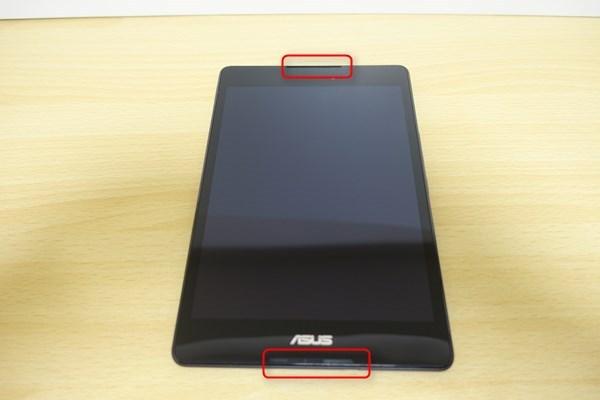 ZenPad 38.0のスピーカー