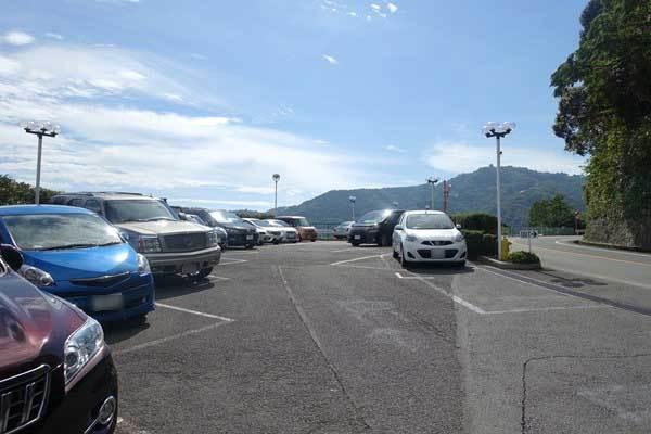 リゾナーレ熱海 駐車場