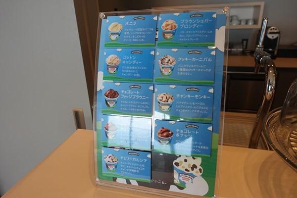 ソラノビーチBooks&Café アイスクリーム