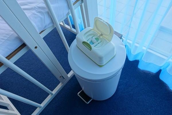 リゾナーレ熱海 スーペリア オムツ拭きとおむつ用のゴミ箱