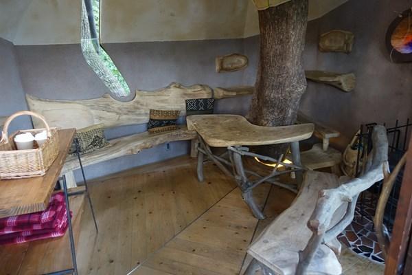 ツリーハウス内部 クスクスの森
