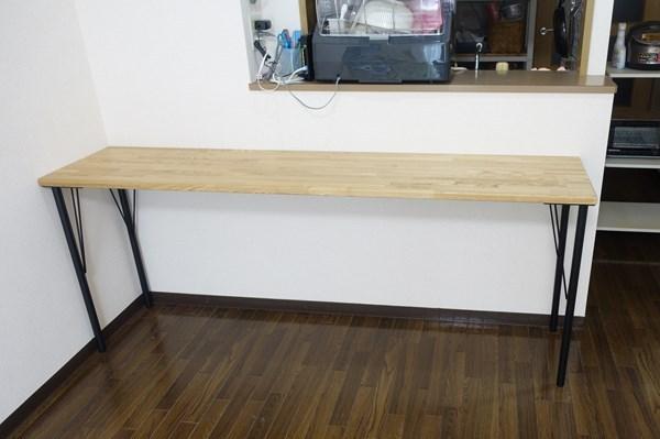 カウンターテーブル DIY